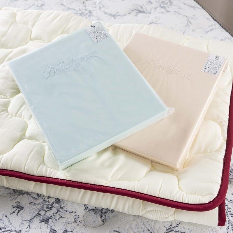 【寝装品3点セット】ラグジュアリー�U ダブル 45�p厚:自宅でお手入れできるのがうれしい
