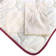 【寝装品3点セット】ラグジュアリー�U クイーン2 45cm厚