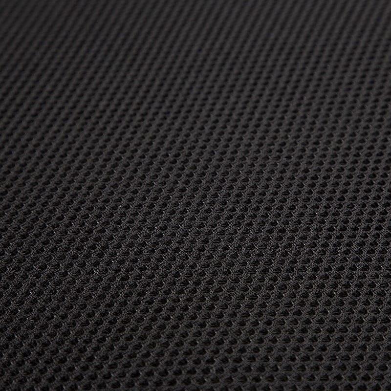 折りたたみシングルベッド ナウ(ブラック):メッシュ生地の高い通気性