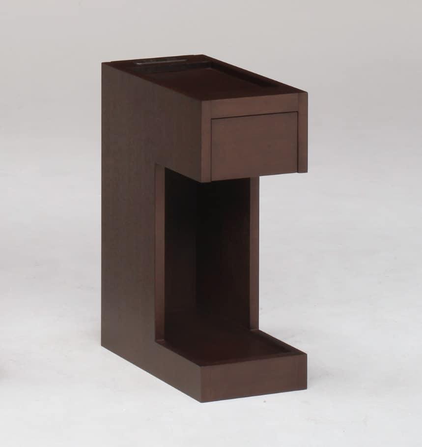 ナイトテーブルNT503 DBR