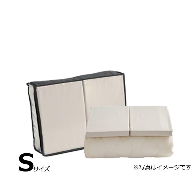 【寝装品3点セット】セイキン シングル 36H ナチュラル:BOXシーツ(同色)2枚とベッドパット1枚の寝装品3点セット