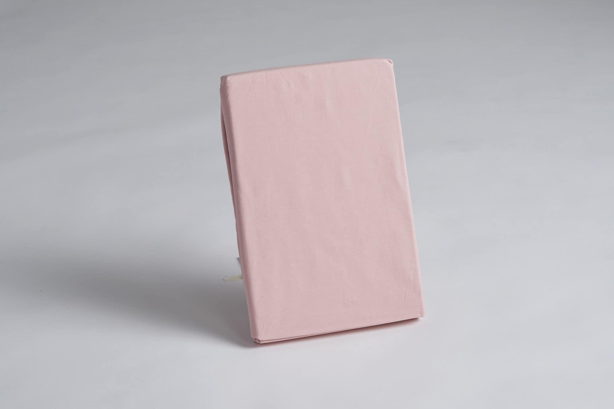 ボックスシーツ シングル用 45H ピンク:《綿100%を使用したボックスシーツ》