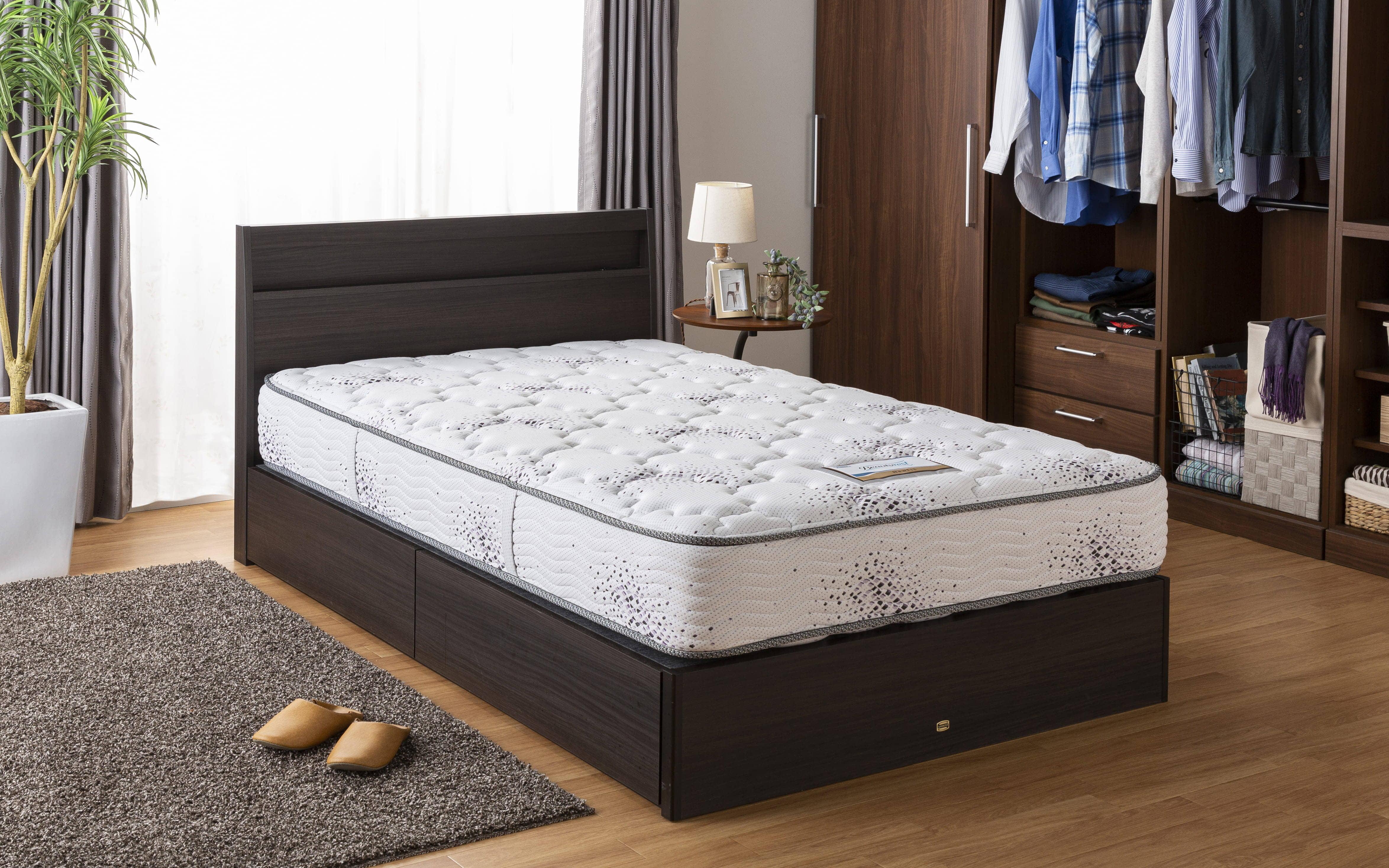 シモンズ 6.5インチニューフィット2 AB16S04(セミダブルマットレス):ホテルの寝心地をご自宅でも