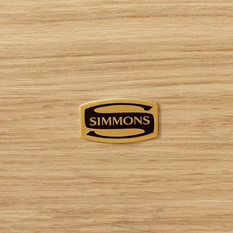 シモンズ ダブルフレーム シエラ スリムシェルフ ステーション DK ※マットレス別売※:世界のベッド