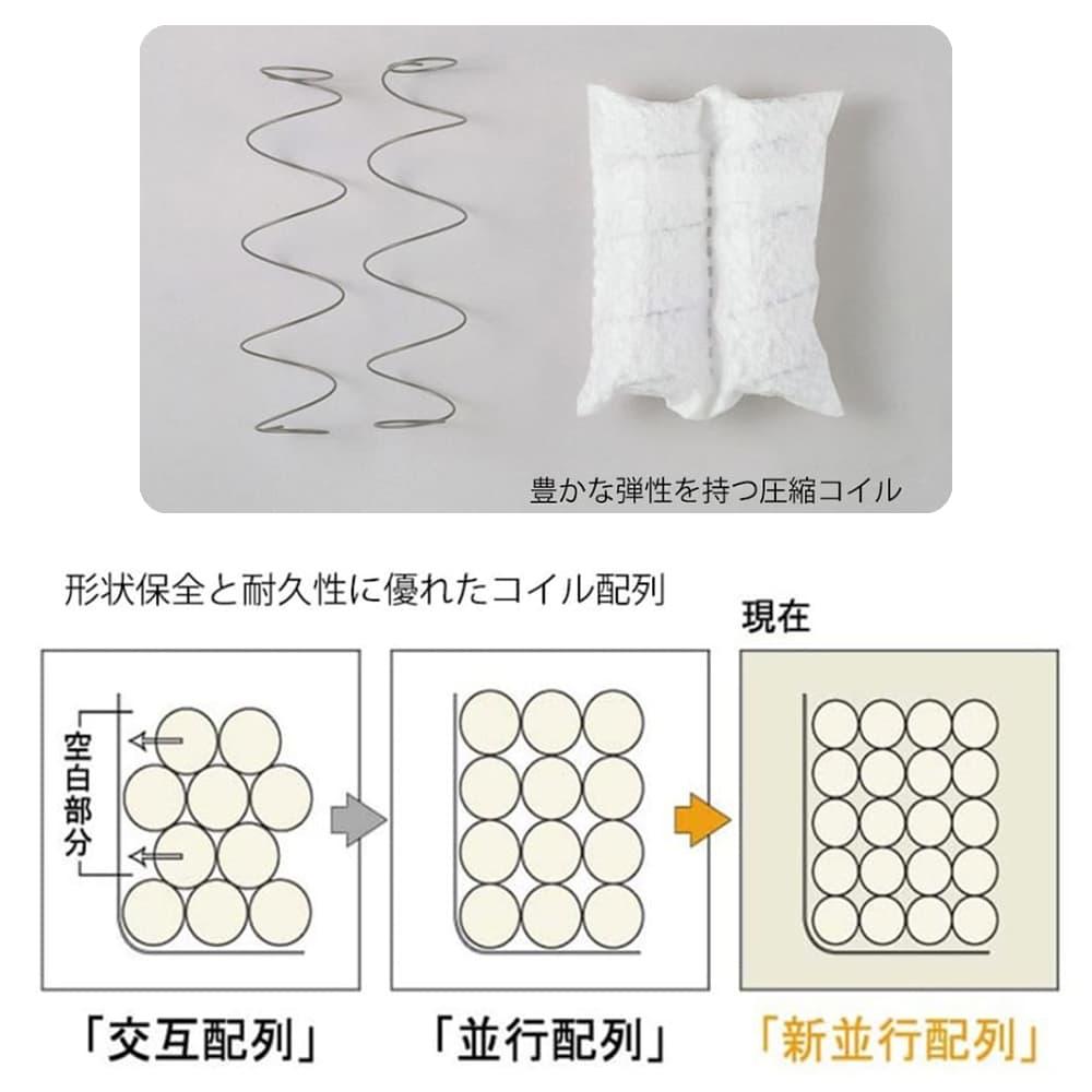 シモンズ ダブルベッド シエラスリムシェルフ深型リフト(MD/5.5インチレギュラー2)
