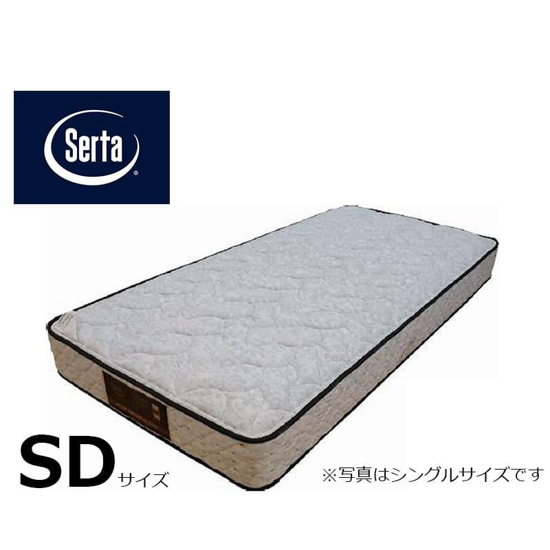 セミダブルマットレス サータぺディック 5.8インチ DX:写真は【シングルサイズ】です