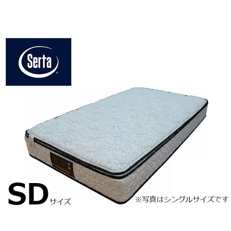 セミダブルマットレス サータぺディック 6.8インチ BOX−T:写真は【シングルサイズ】です
