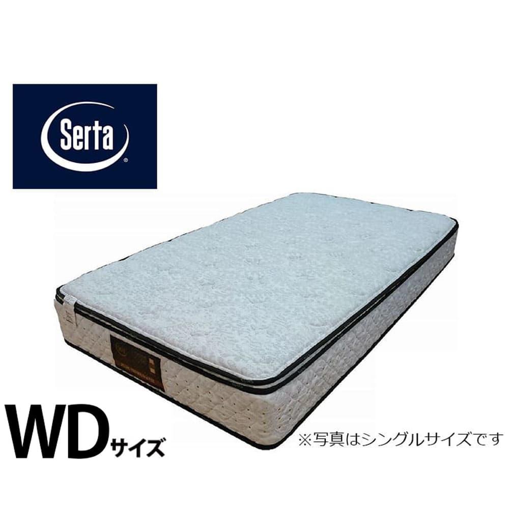 クイーン1マットレス サータぺディック 6.8インチ BOX−T:写真は【シングルサイズ】です