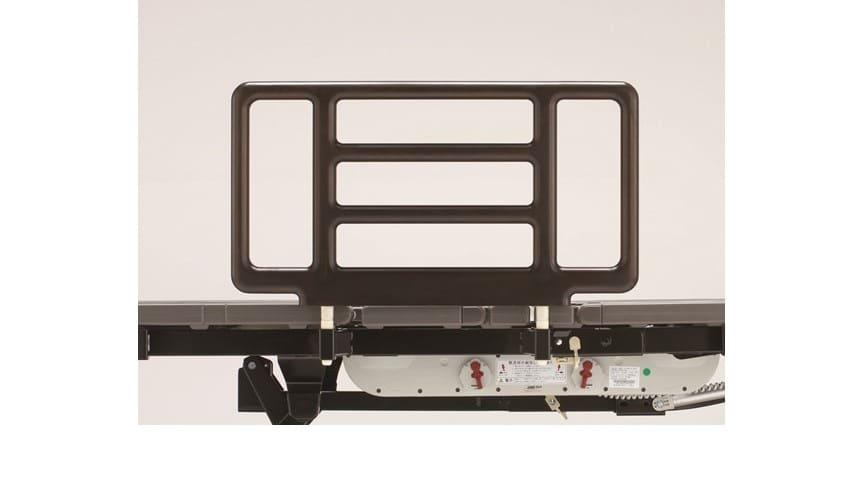 リクライニング手摺り SR−300ウッドJJN1V(1本) スタンダードアンバー:《電動リクライニングベッド用手摺》