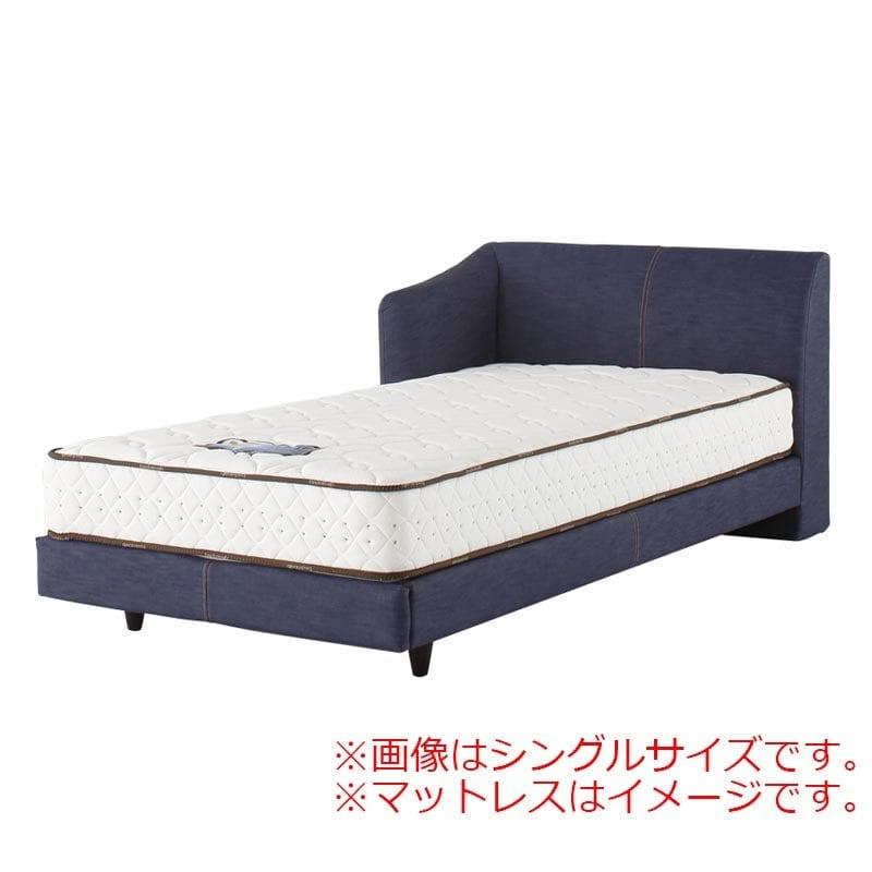 セミダブルフレーム カコリア2451 ジャパンブルー L D−485:「本物のデニムをベッドに使いたい!」という願いを叶えたおしゃれなベッドです。