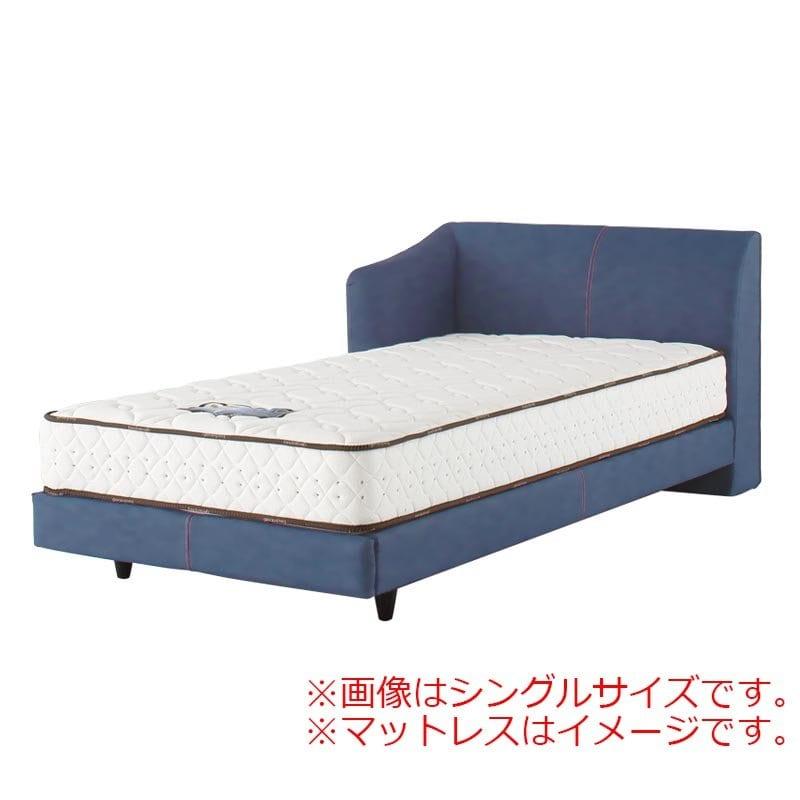 シングルフレーム カコリア2451 ジャパンブルー L D−484:「本物のデニムをベッドに使いたい!」という願いを叶えたおしゃれなベッドです。