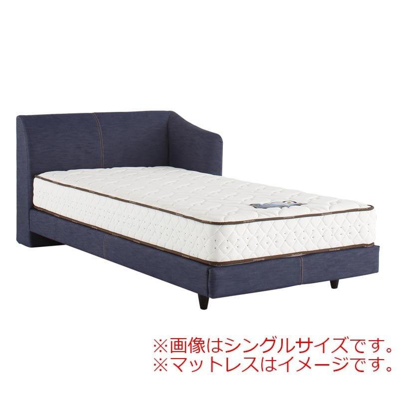 シングルフレーム カコリア2451 ジャパンブルー R D−485:「本物のデニムをベッドに使いたい!」という願いを叶えたおしゃれなベッドです。