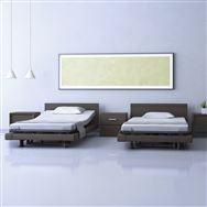 【非課税】電動ベッドフレーム インタイム1000 1+1M スクエア ハリウッド 1132SJA