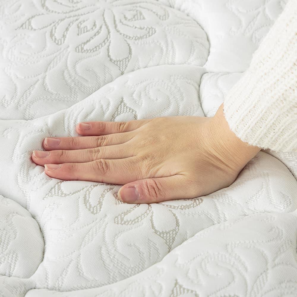 フランスベッド セミシングルマットレス シルバー800EX3:DXに羊毛をプラス