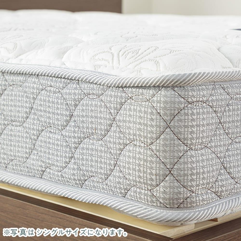 フランスベッド セミシングルマットレス シルバー800EX3:女性でもお手入れが簡単♪
