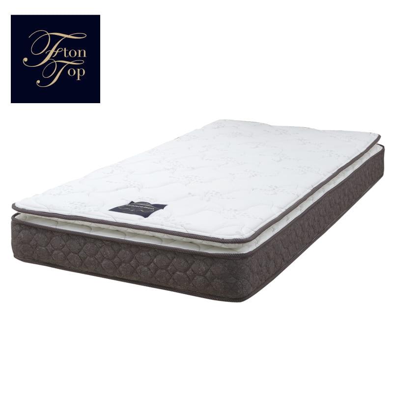 フランスベッド セミダブルマットレス フトントップDLX3:布団の寝心地とマットレスの性能を融合 画像はシングルサイズです。