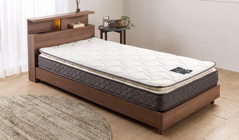 フランスベッド セミダブルマットレス フトントップDLX3:布団の寝心地とマットレスの性能を融合