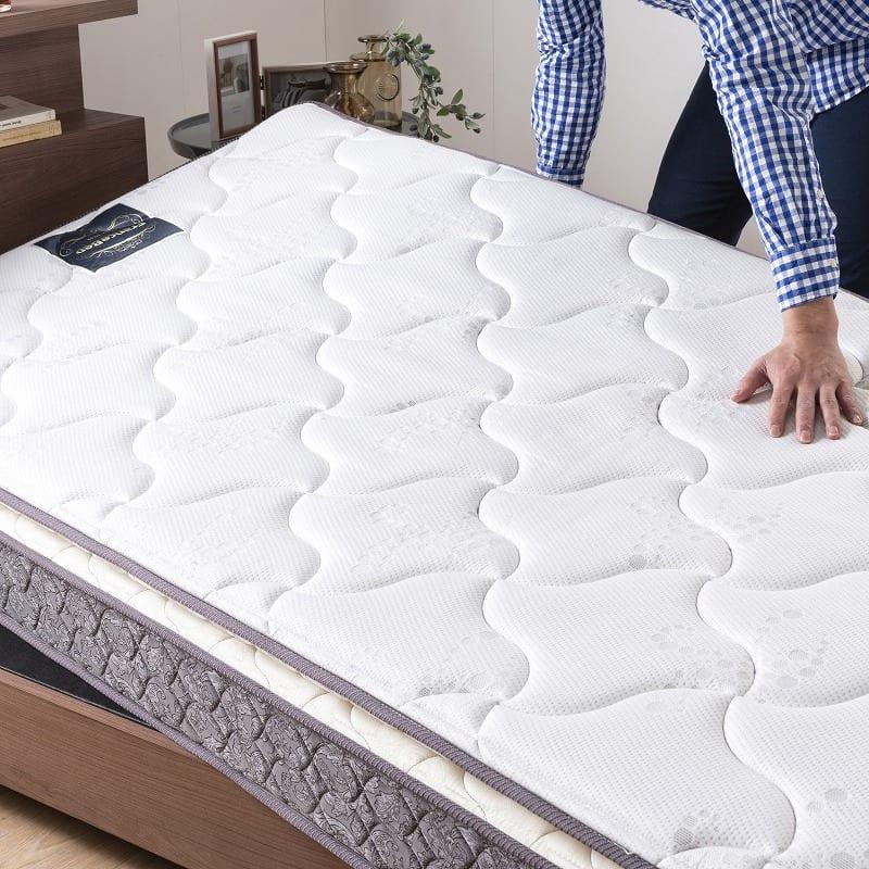フランスベッド セミダブルマットレス フトントップDLX3:お手入れ簡単片面仕様