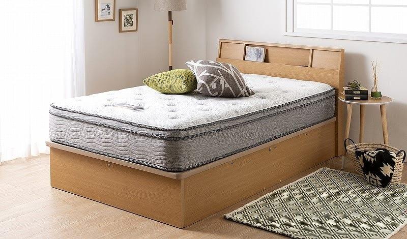 シモンズ 6.5インチ NFスイートユーロトップ AB17S14(シングルマットレス):高級ホテルのベッドの寝心地