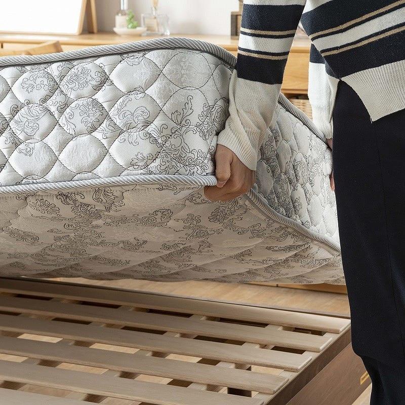 フランスベッド セミダブルマットレス PWミュールDLX:こまめな入れ替えで長持ち