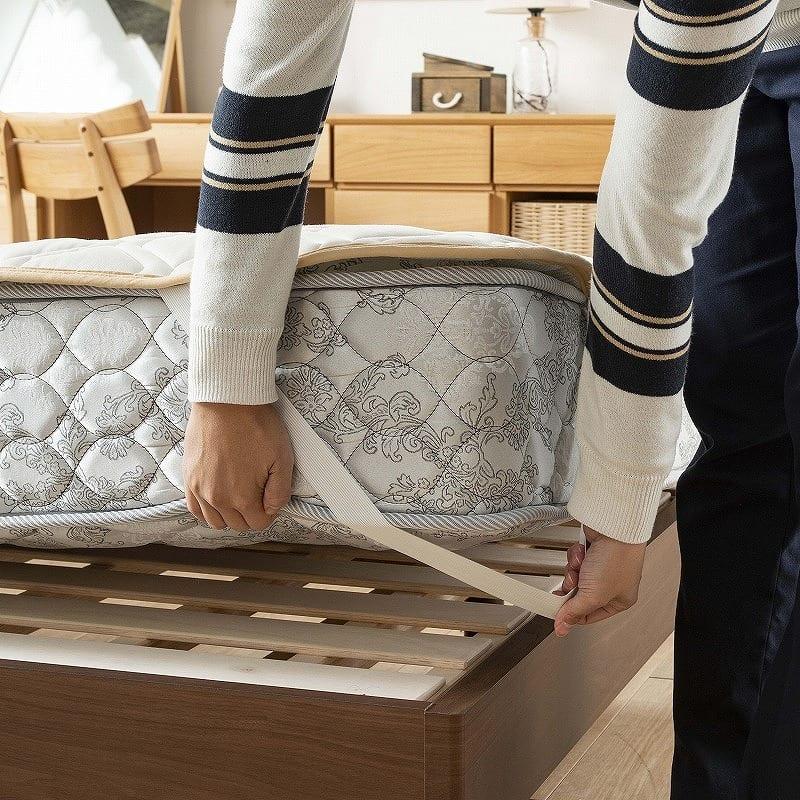 フランスベッド セミダブルマットレス PWミュールDLX:お手入れが簡単♪