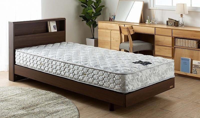 フランスベッド セミシングルマットレス PWミュールDLX:シングルサイズなのにセミダブルの寝心地