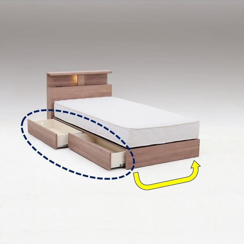ダブルフレーム バンカー(引出し):引出しは左右入れ替えOK