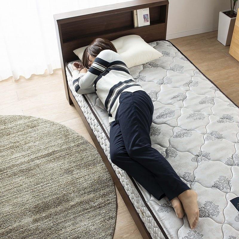 フランスベッド セミシングルマットレス PWミュールSPL(ハード):広々寝返り
