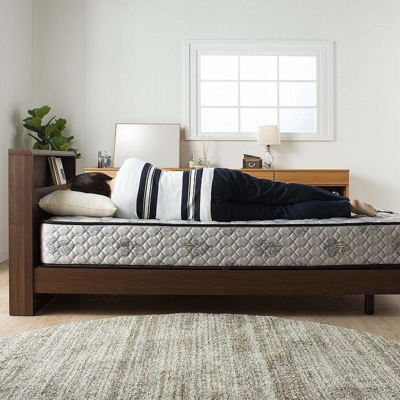 フランスベッド セミシングルマットレス PWミュールSPL(ハード):程よくソフトなミディアムタイプ