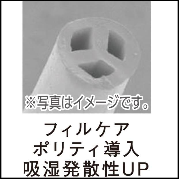 シモンズ 6.5インチEHスイートPRE AB17S17(セミダブルマットレス):中綿を使用