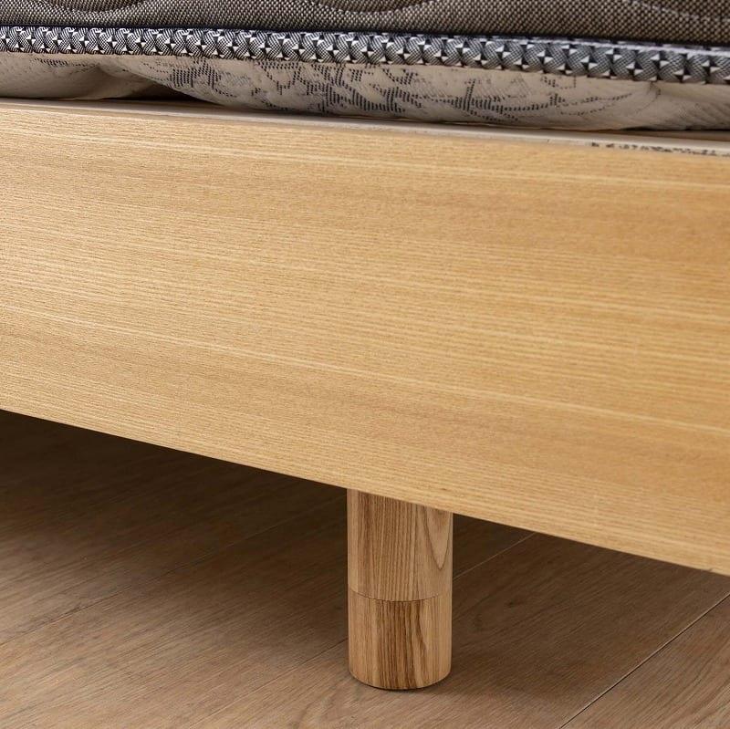 シングルベッドフレーム スピーク2 フラット・リフトWW H1081:すっきりとしたレッグタイプ