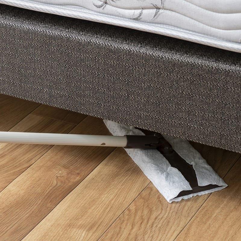 シモンズ シングルツインベッド デュアルサポート20 DC グレージュ:ベッド下のお掃除がしやすい