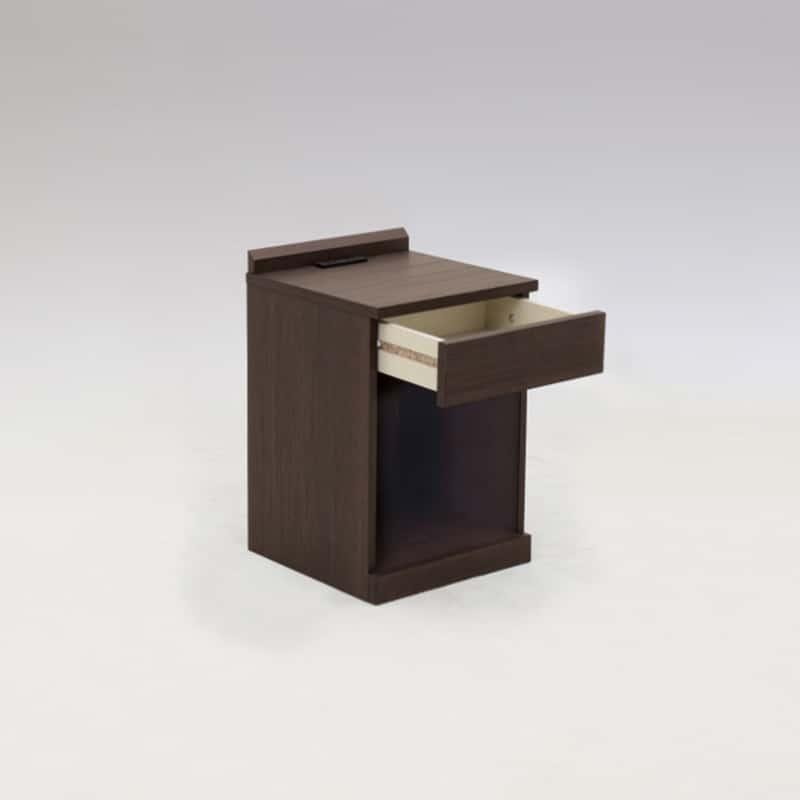 ナイトテーブル マイアミ DWNT:《シンプルデザインのナイトテーブル「マイアミ」》
