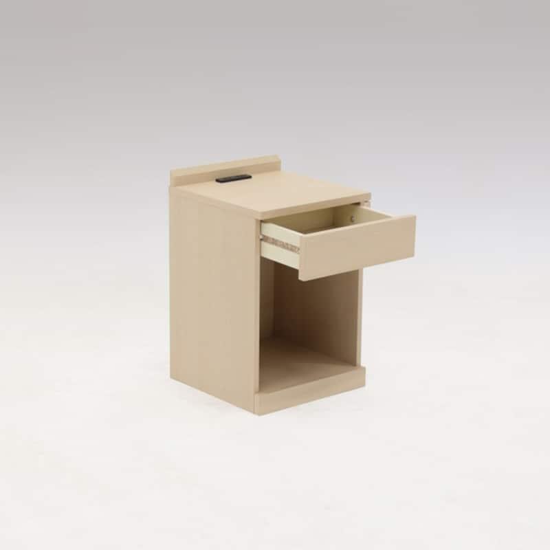 ナイトテーブル マイアミ L−OAK:《シンプルデザインのナイトテーブル「マイアミ」》