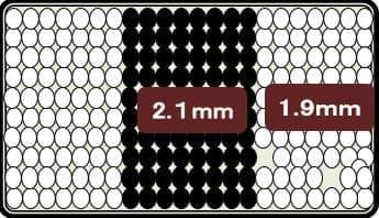 シングルベッド ストレージ�VFD(フラット) 3ゾーンポケット ダーク