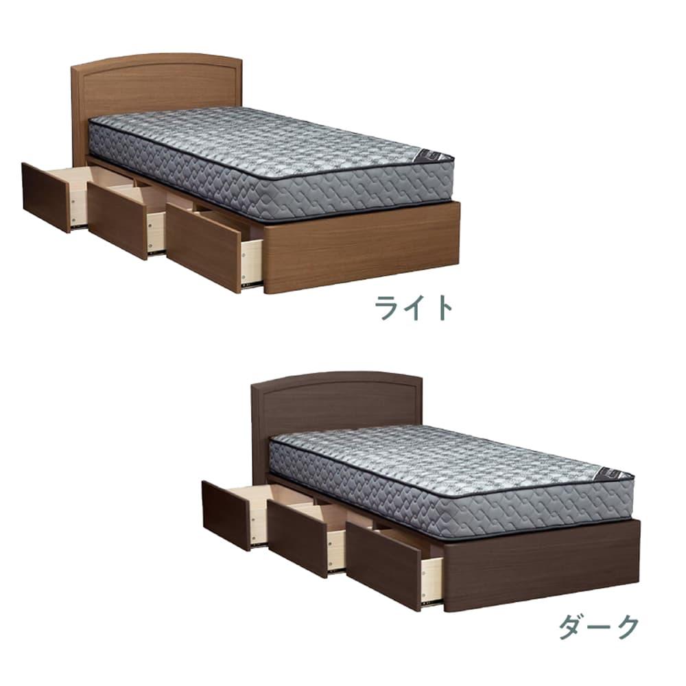 :選べるベッドフレーム2色