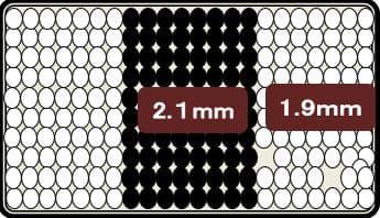 ダブルベッド ストレージ�VCD(キャビネット) 3ゾーンポケット ライト