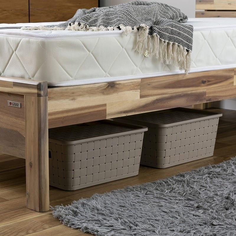 :ベッド下スペースは有効活用OK★
