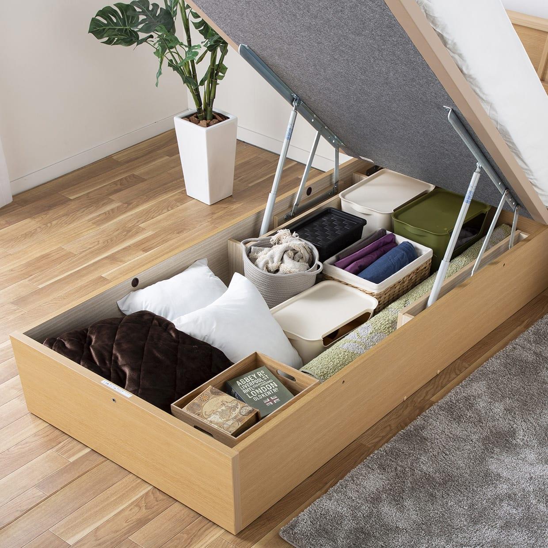 :便利な床下収納機能付き
