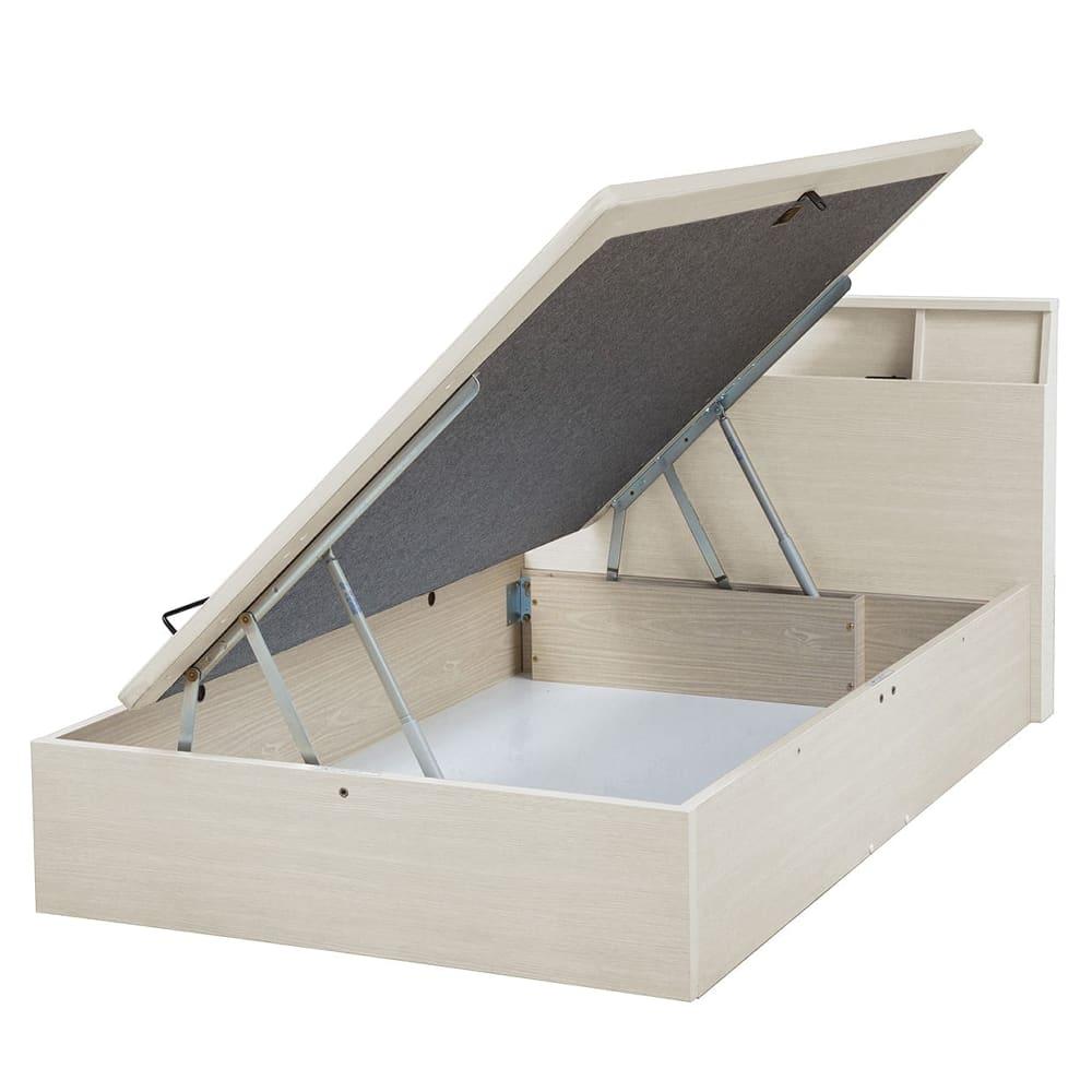 セミダブルフレーム e tanto C サイド335H WW:いいかも?ベッド下のスペースも有効活用しませんか?