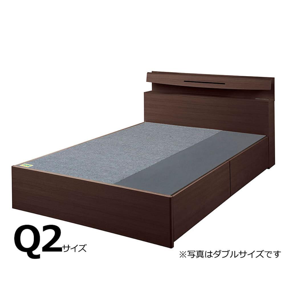 クイーン2フレーム e tanto D BOX-N335H MEW:いいかも?ベッド下のスペースも有効活用しませんか?