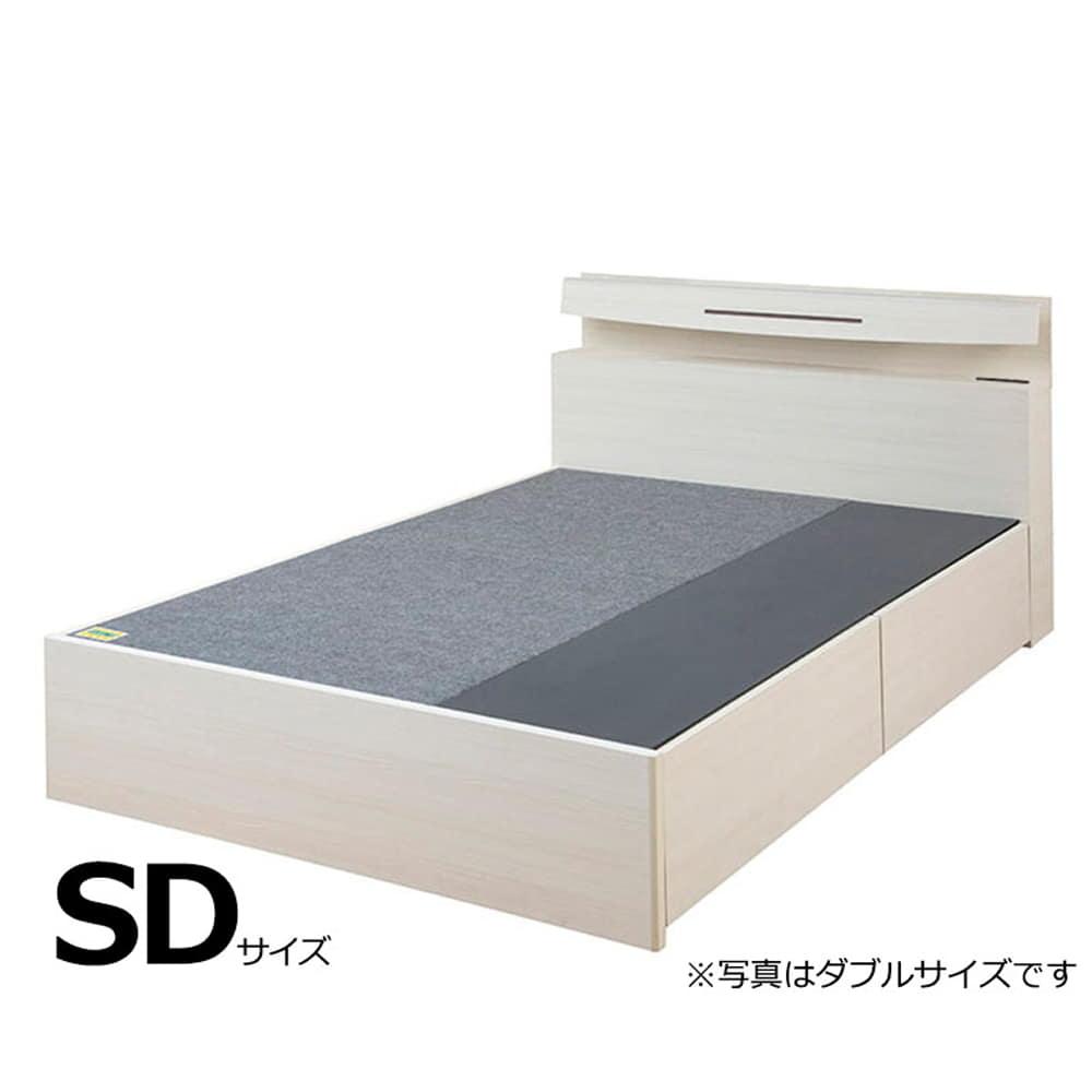 セミダブルフレーム e tanto D BOX-N335H WW:いいかも?ベッド下のスペースも有効活用しませんか?