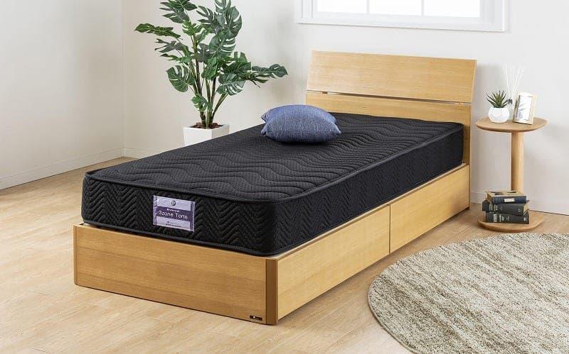 シングルマットレス ブランクール 3ゾーントルテ ブラック:ベッドメーカーの「グランツ」がおススメするマットレス