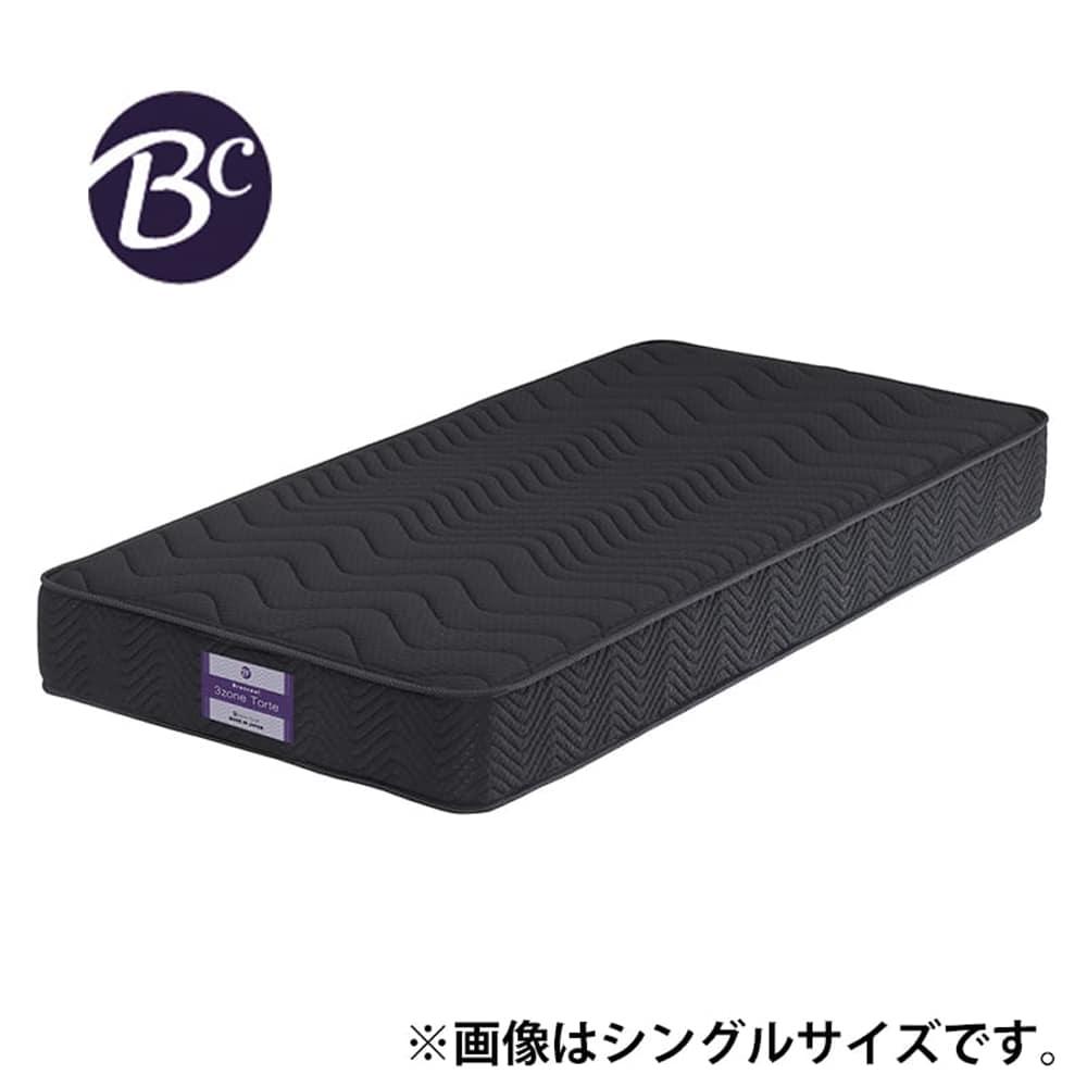 クイーン2マットレス ブランクール 3ゾーントルテ ブラック:※Q2は2分割タイプになります(幅約80cm×2枚)