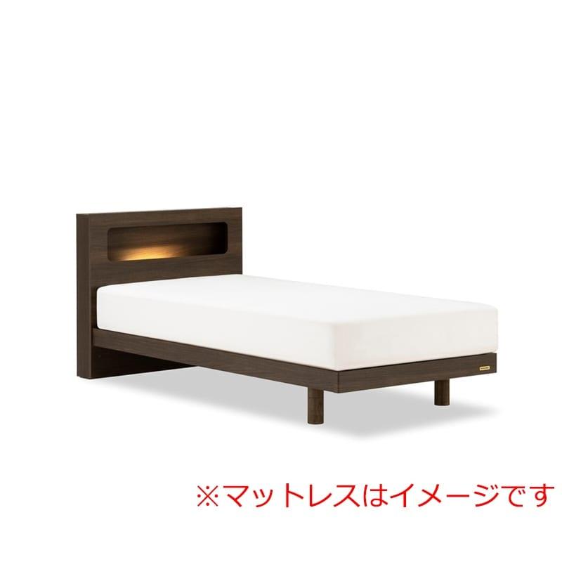 シングルベッド AN70Cレッグ/ZT−030 ブラウン:◆人気のフランスベッド70周年記念モデルです。