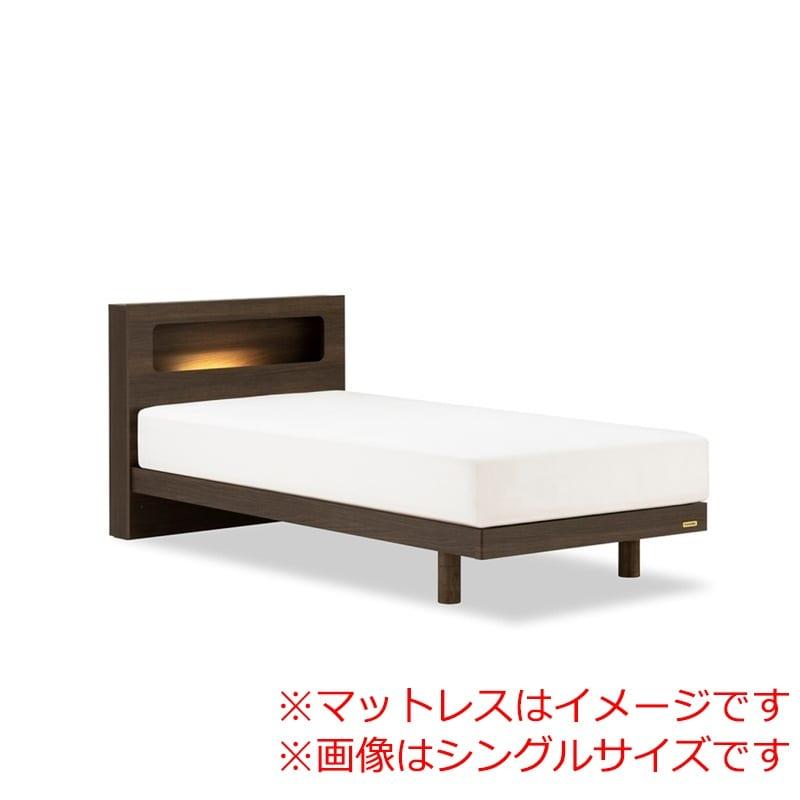 セミダブルベッド AN70Cレッグ/ZT−030 ブラウン:◆人気のフランスベッド70周年記念モデルです。