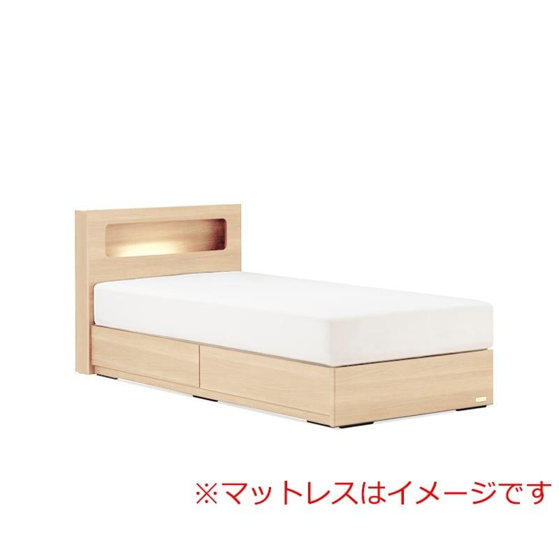 シングルベッド AN70C引付/ZT−030 ナチュラル:◆人気のフランスベッド70周年記念モデルです。