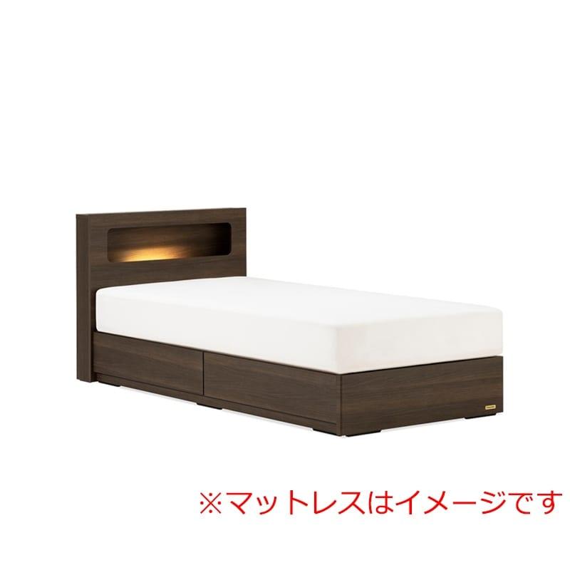 シングルベッド AN70C引付/ZT−030 ブラウン:◆人気のフランスベッド70周年記念モデルです。