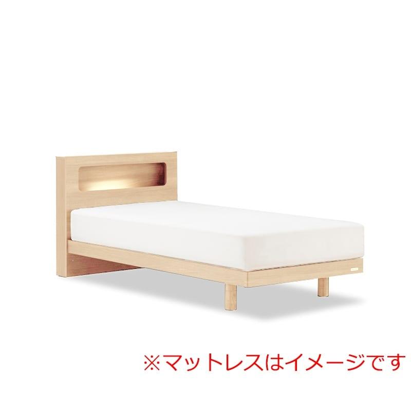 シングルベッド AN70Cレッグ/ZT−03プレミア ナチュラル:◆人気のフランスベッド70周年記念モデルです。