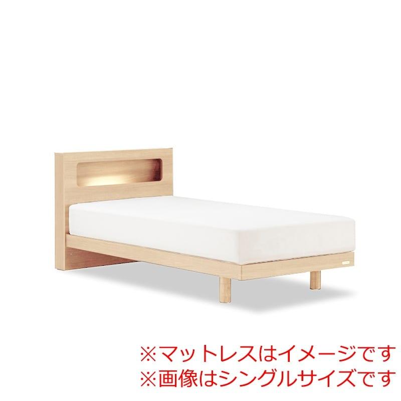 ダブルベッド AN70Cレッグ/ZT−PWプレミア ナチュラル:◆人気のフランスベッド70周年記念モデルです。
